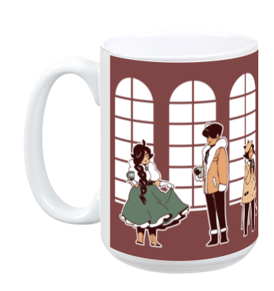 Saint for Rent - Party Mug from Saint for Rent - Webcomic Merchandise