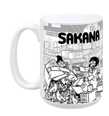 Sakana - Sakana Mug from Sakana - Webcomic Merchandise