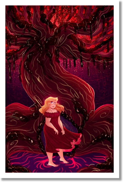 Alice and the Nightmare - Alice's Tree Print from Alice and the Nightmare - Webcomic Merchandise