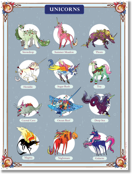 Snarlbear - Unicorn Poster from Snarlbear - Webcomic Merchandise
