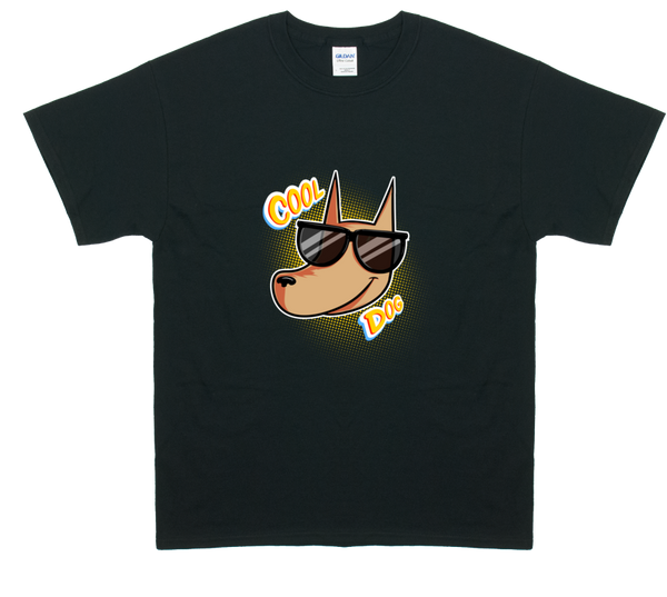 A Ghost Story - Cool Dog T-shirt from A Ghost Story - Webcomic Merchandise