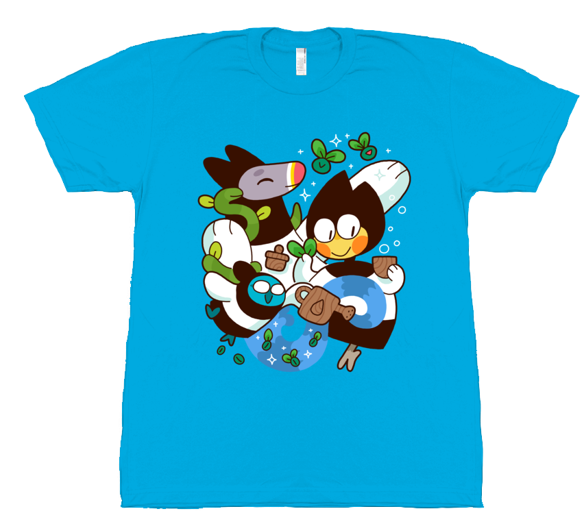 Jailbird - Three Witches Shirt from Jailbird - Webcomic Merchandise