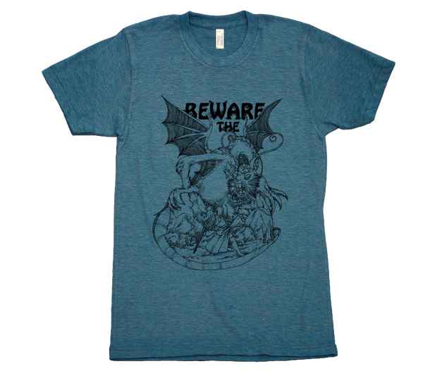 Namesake - Beware the Jabberwock Shirt from Namesake - Webcomic Merchandise