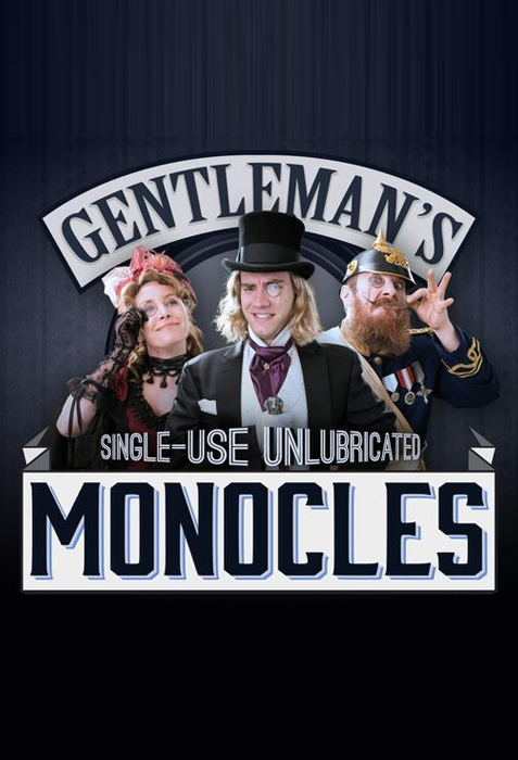 Gentleman's Single-use Unlubricated Monocles