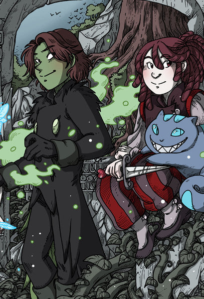 Namesake - Gentlemen of the Ruins print from Namesake - Webcomic Merchandise