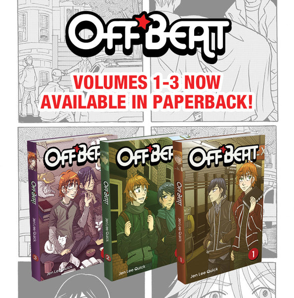 Off*Beat - Volumes 1-3 (Complete Series Set) from Off*Beat - Webcomic Merchandise