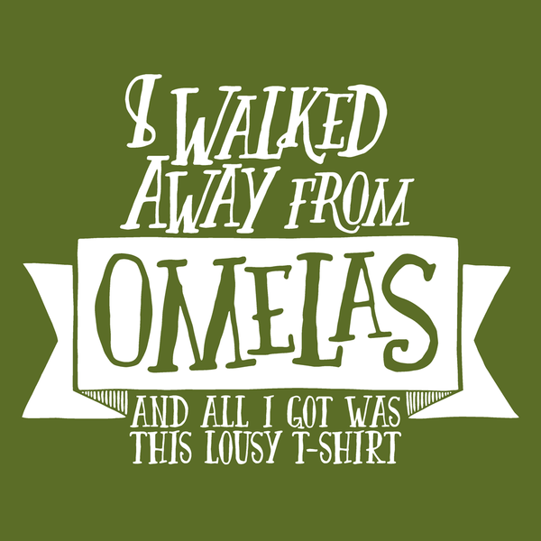 Omelas T-Shirt Women's from Wonderlust - Webcomic Merchandise