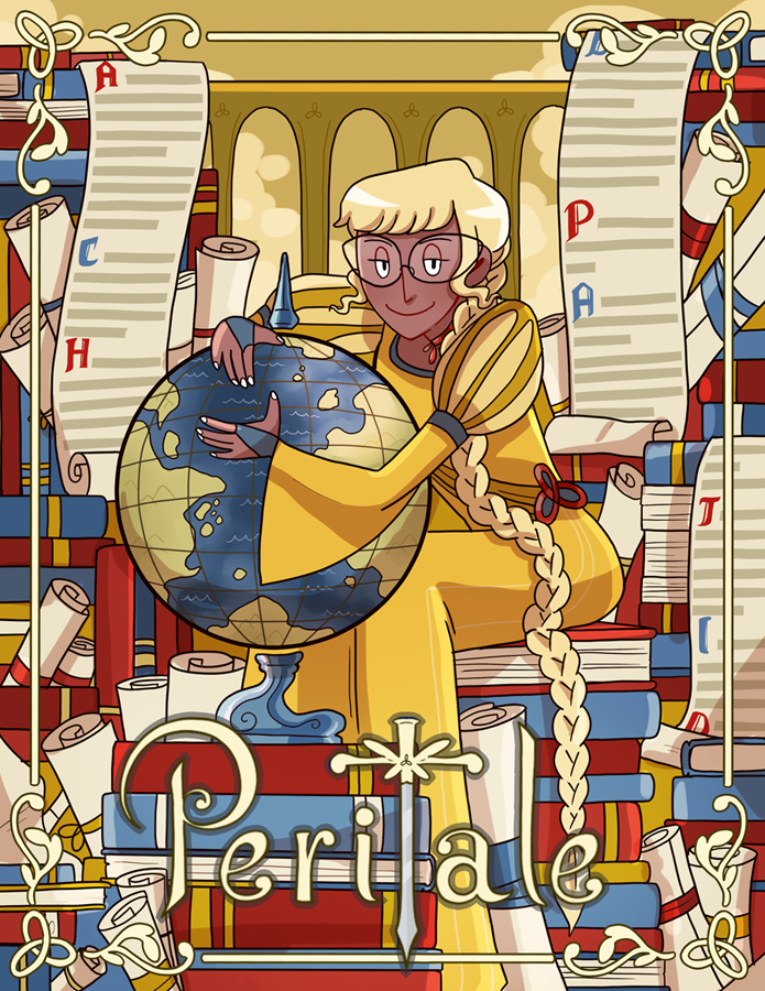 Peritale - Vallery print from Peritale - Webcomic Merchandise