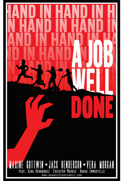 A Job Well Done Print from A Ghost Story - Webcomic Merchandise