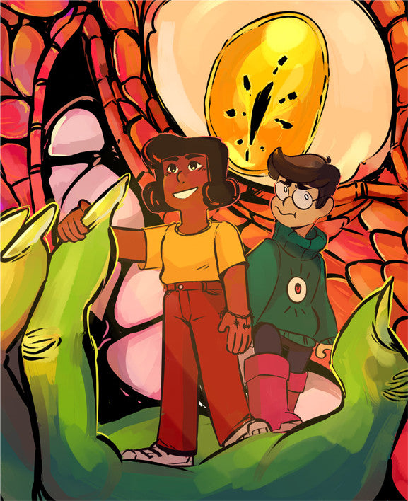 Demon Street - Cover print from Demon Street - Webcomic Merchandise