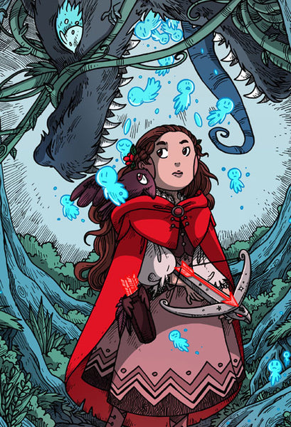 Namesake - Red Riding Hood print from Namesake - Webcomic Merchandise