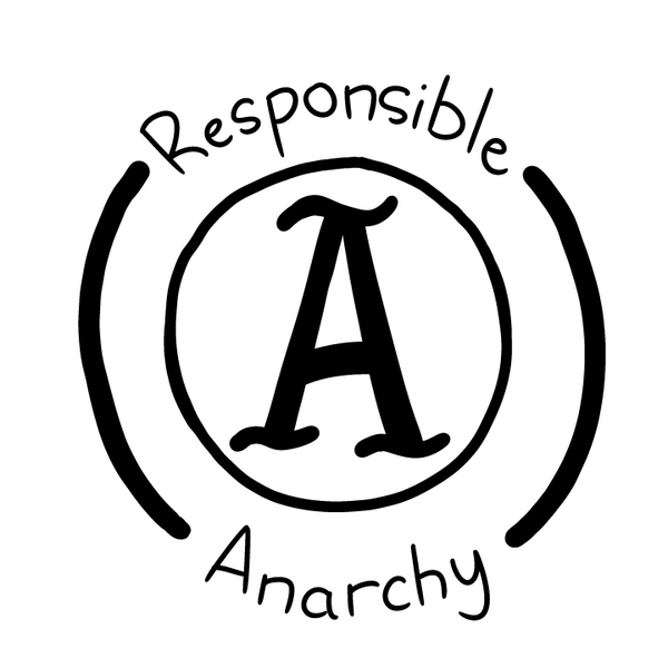 Responsible Anarchy Patch from SMBC - Webcomic Merchandise