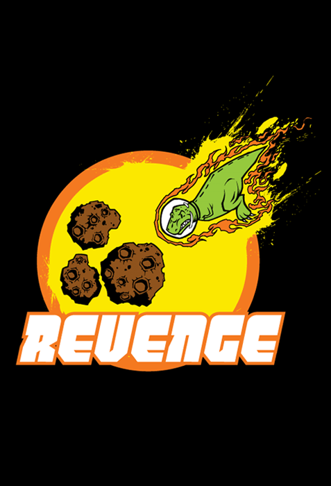 SMBC - Revenge! Shirt (Black) from SMBC - Webcomic Merchandise