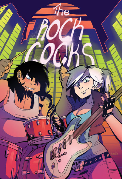 The Rock Cocks - Self-Titled Debut print from Rock Cocks - Webcomic Merchandise