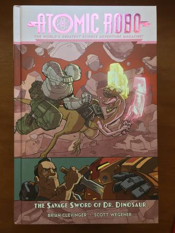 Atomic Robo and The Savage Sword of Dr. Dinosaur (Volume 8) from Atomic Robo - Webcomic Merchandise