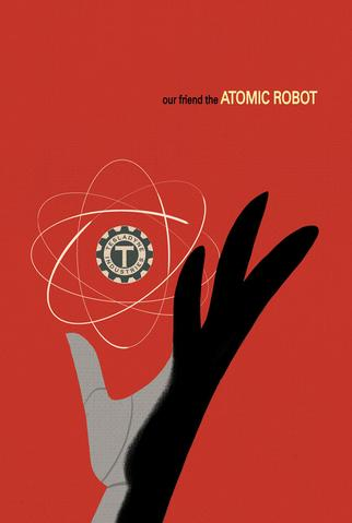 Our Friend the Atomic Robot Mini Poster from Atomic Robo - Webcomic Merchandise