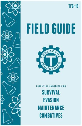 Tesladyne Field Guide - Floppy from Atomic Robo - Webcomic Merchandise