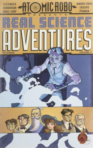 Real Science Adventures Volume 2 from Atomic Robo - Webcomic Merchandise