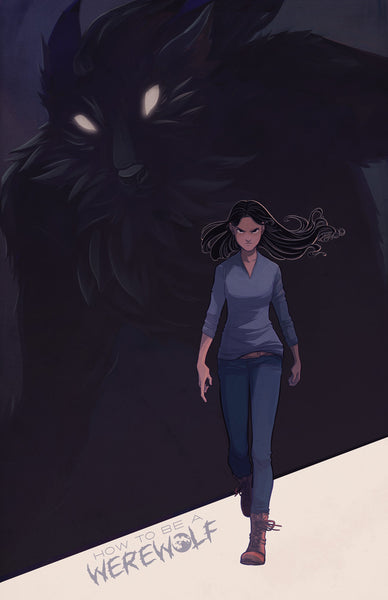 Chapter 6 Cover Print from How To Be a Werewolf - Webcomic Merchandise