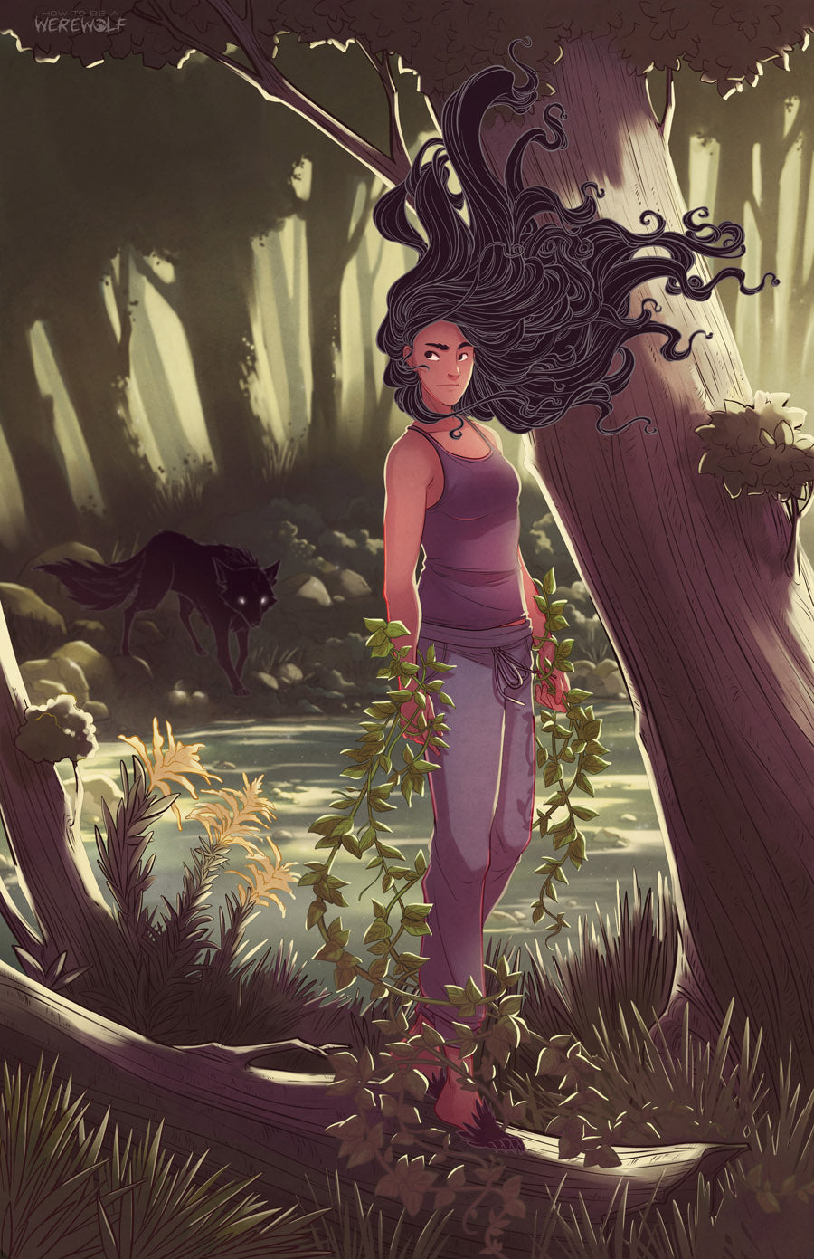 Chapter 10 Cover Print from How To Be a Werewolf - Webcomic Merchandise