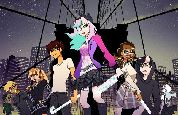 Brooklyn Bridge Print from Anarchy Dreamers - Webcomic Merchandise