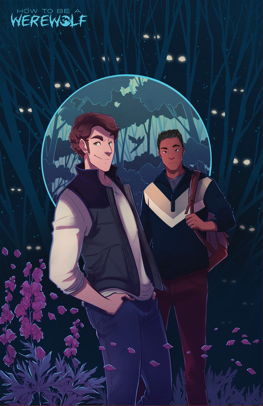 Chapter 9 Cover Print from How To Be a Werewolf - Webcomic Merchandise