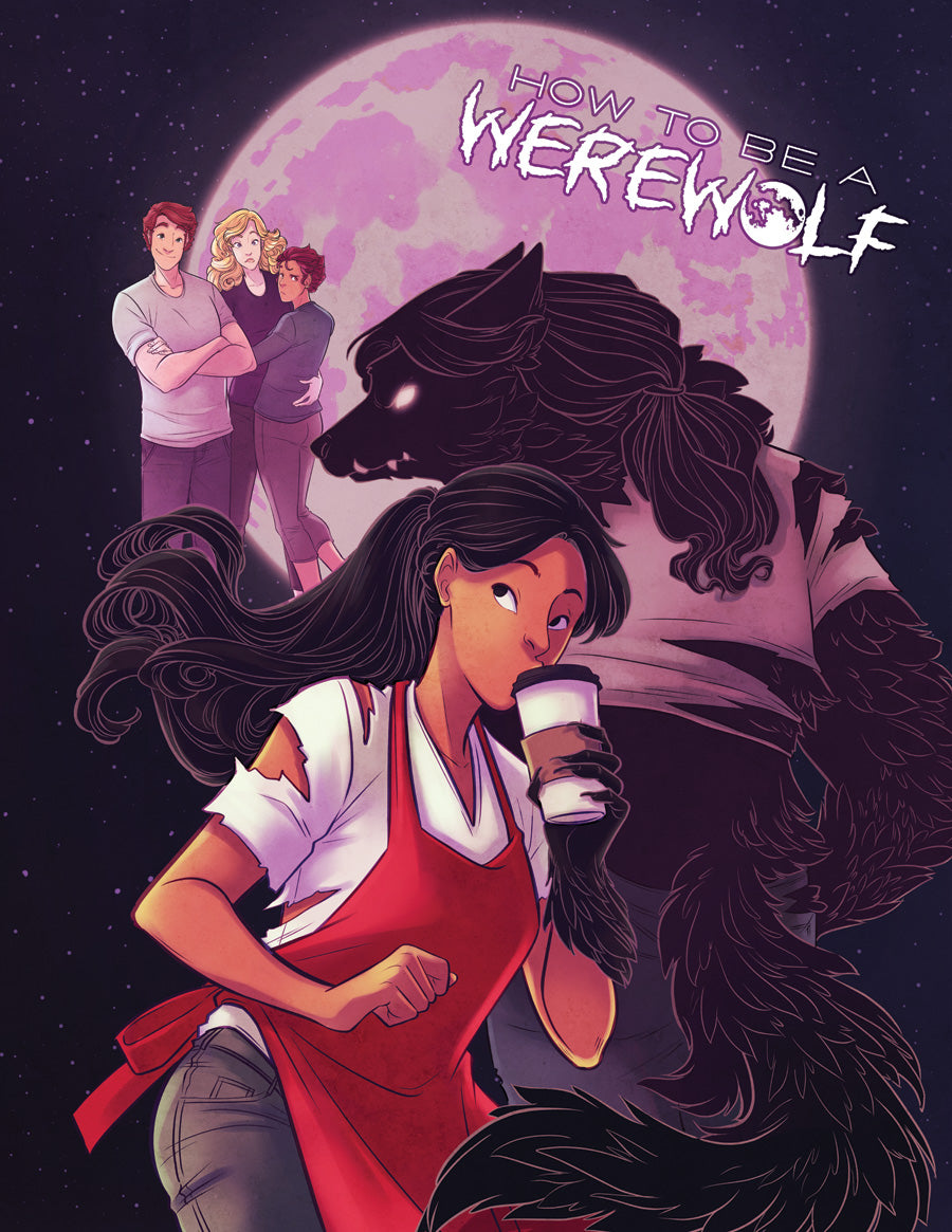 Issue Two Print from How To Be a Werewolf - Webcomic Merchandise