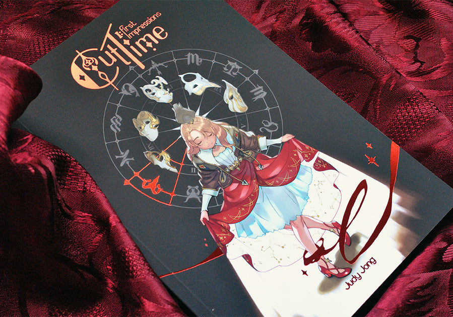 Cut Time Book 1 Softcover from Cut Time - Webcomic Merchandise