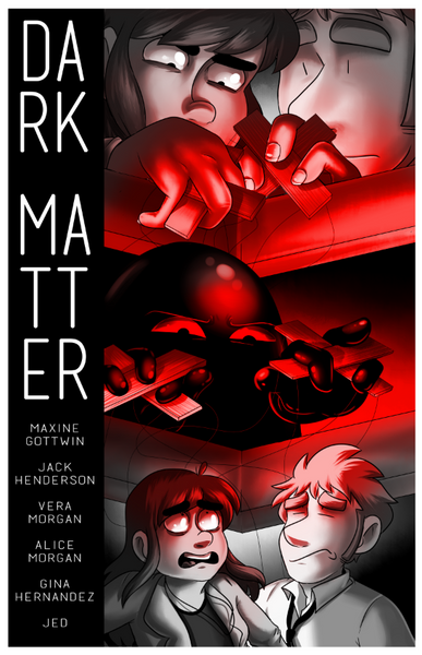 Dark Matter Print from A Ghost Story - Webcomic Merchandise