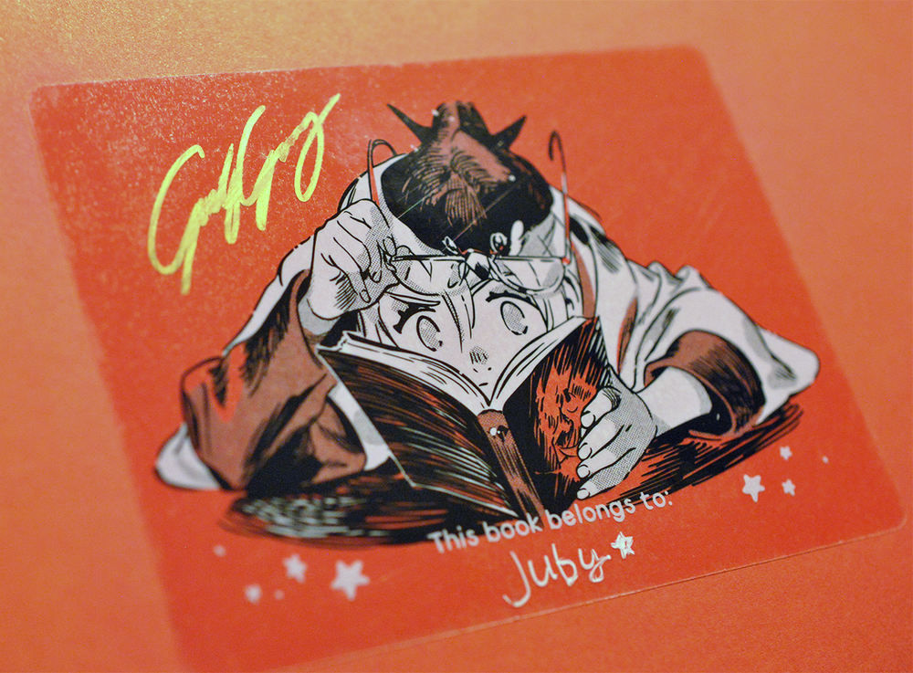 Cut Time Signed Bookplate (Limited supply) from Cut Time - Webcomic Merchandise