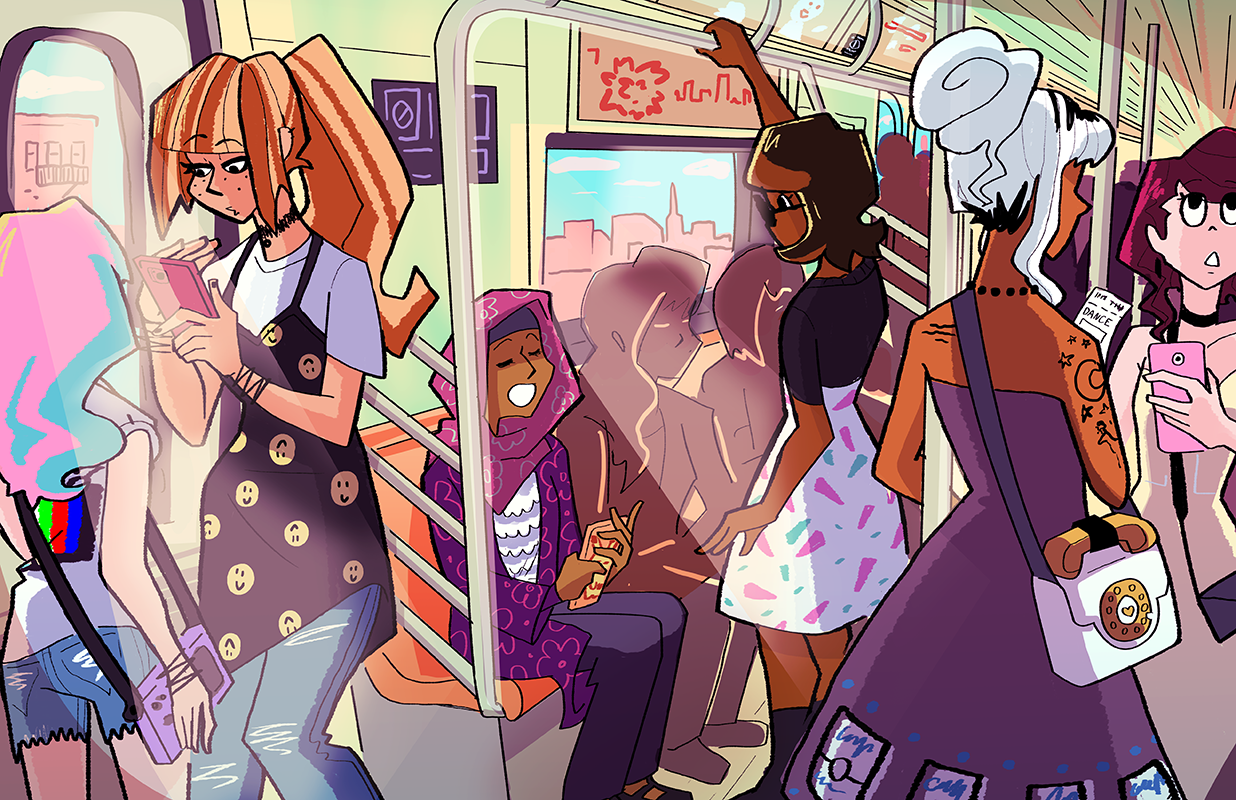 Subway Ride Print