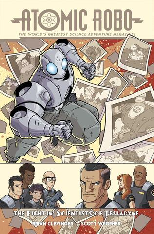 Atomic Robo and the Fighting Scientists of Tesladyne from Atomic Robo - Webcomic Merchandise