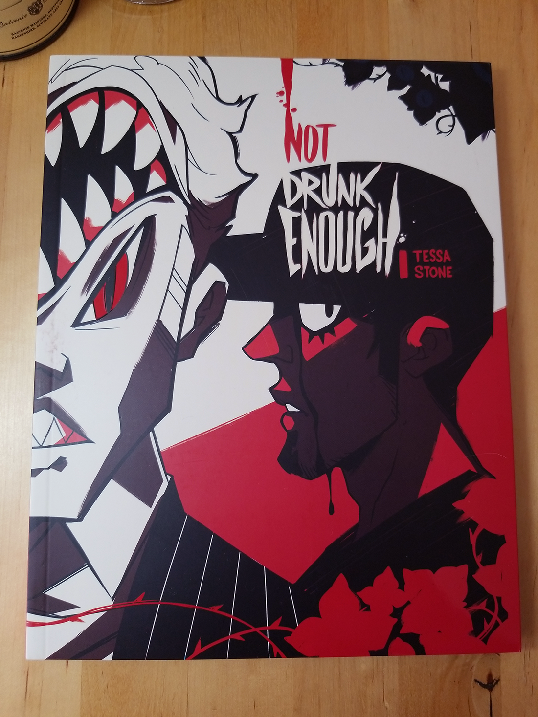 Not Drunk Enough Volume 1 from Tess Stone - Webcomic Merchandise
