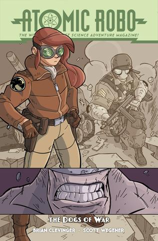 Atomic Robo and The Dogs of War from Atomic Robo - Webcomic Merchandise