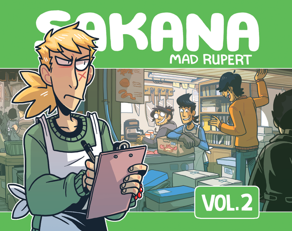 Sakana Volume 2 from Sakana - Webcomic Merchandise