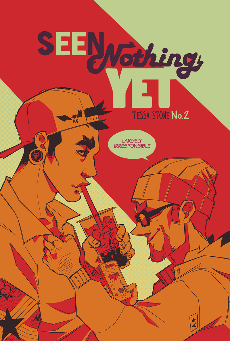 Seen Nothing Yet Volume 2 (18+ Only) from Tess Stone - Webcomic Merchandise