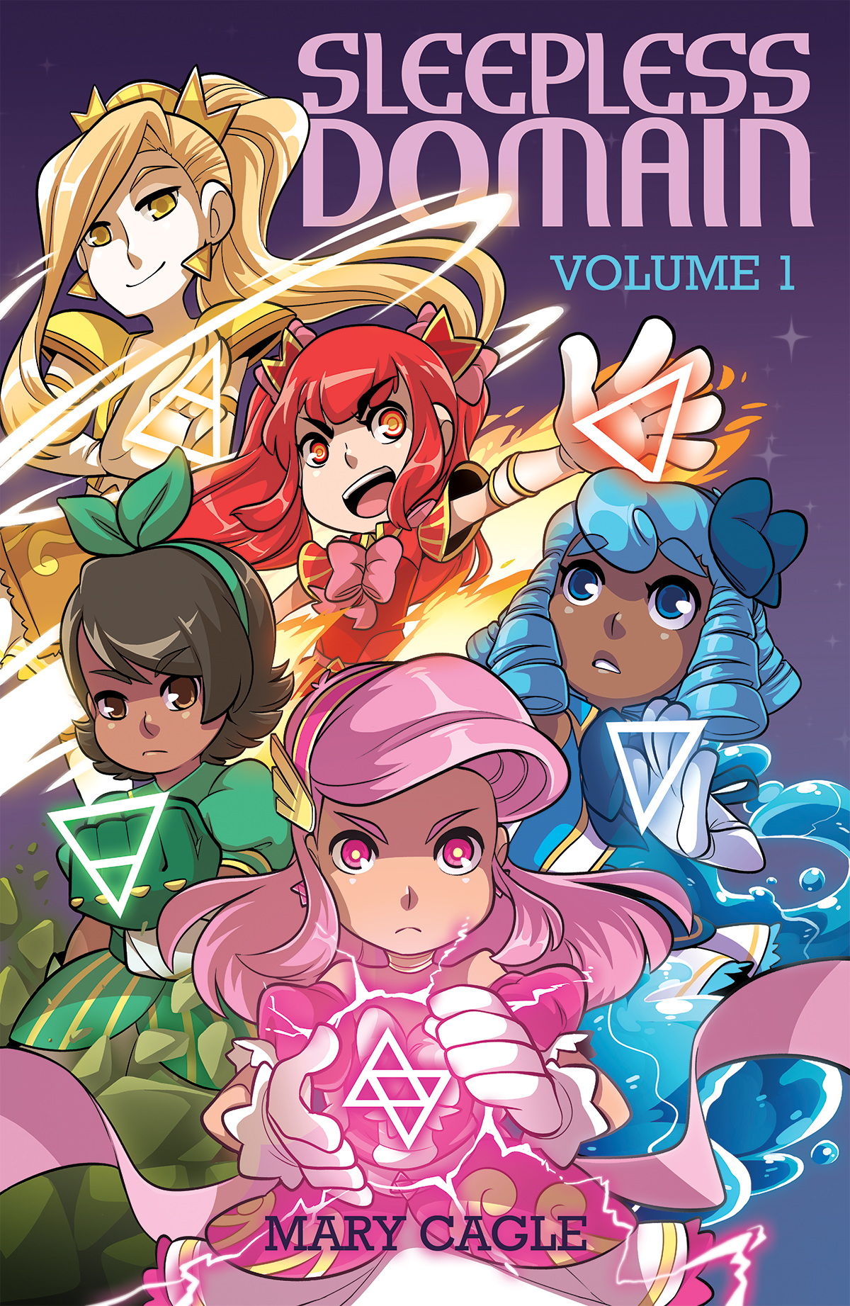 Sleepless Domain Book 1 from Sleepless Domain - Webcomic Merchandise