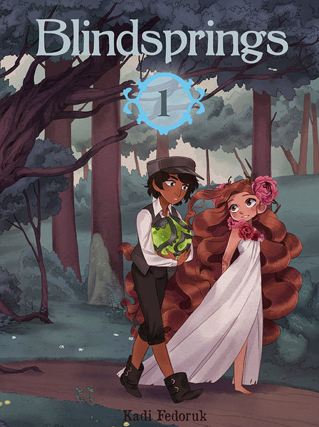 Blindsprings Book 1 from Blindsprings - Webcomic Merchandise