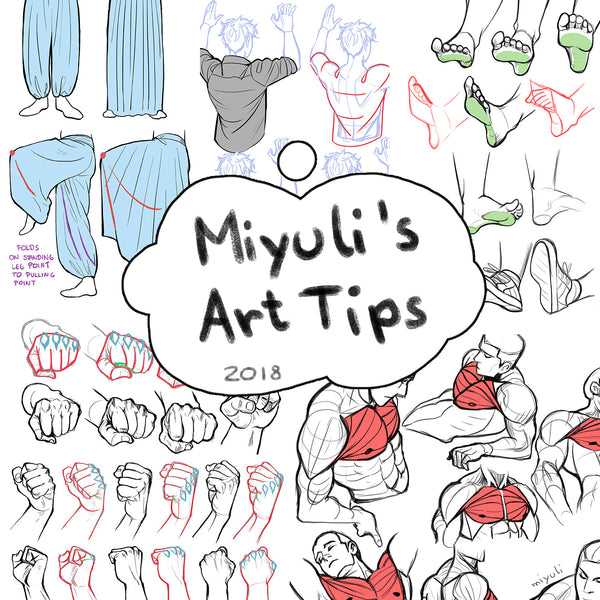 Miyuli's Art Tips 2018