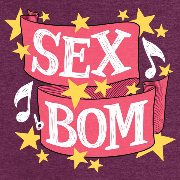 Sex Bom T-Shirt from Wonderlust - Webcomic Merchandise