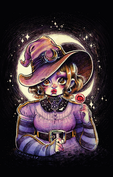Witchy Print from Gunkiss - Webcomic Merchandise