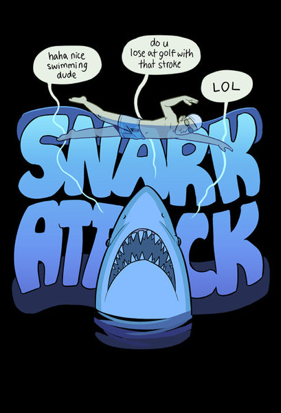 Paranatural - Snark Attack shirt from Paranatural - Webcomic Merchandise