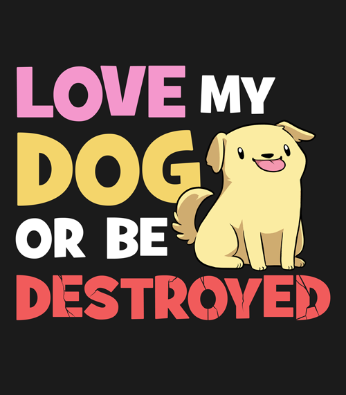 Mary Cagle - Love My Dog Shirt from Mary Cagle - Webcomic Merchandise