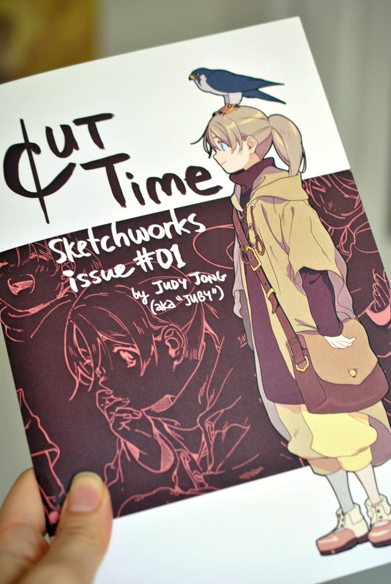 Cut Time Sketchworks 1 from Cut Time - Webcomic Merchandise