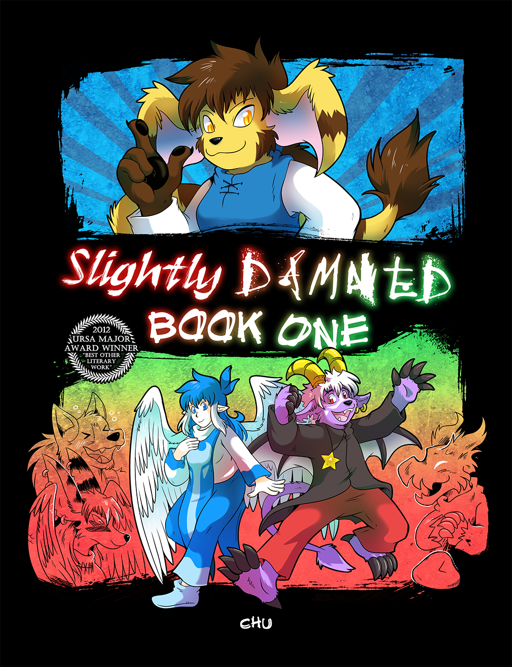 Slightly Damned Book 1