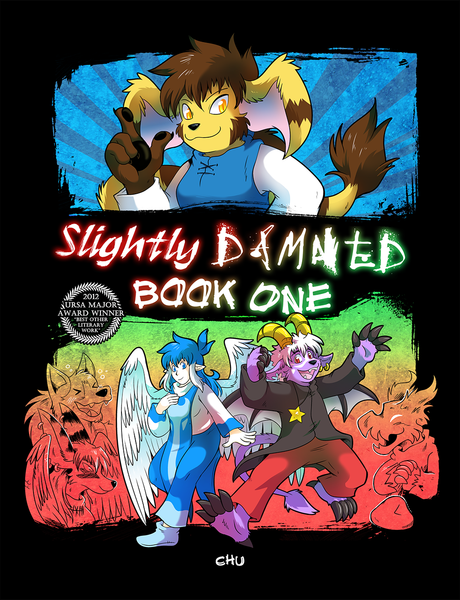 Slightly Damned Book 1 from Slightly Damned - Webcomic Merchandise