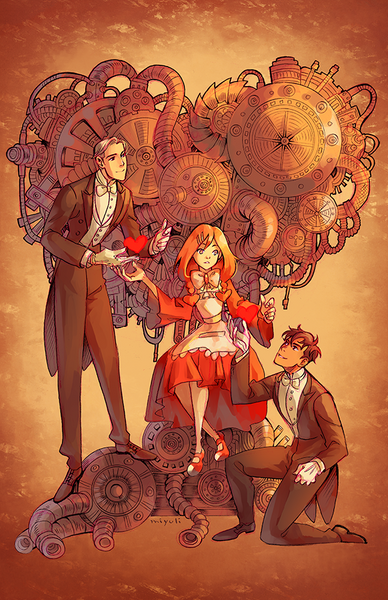 Hearts for Sale - Anniversary print from miyuli - Webcomic Merchandise