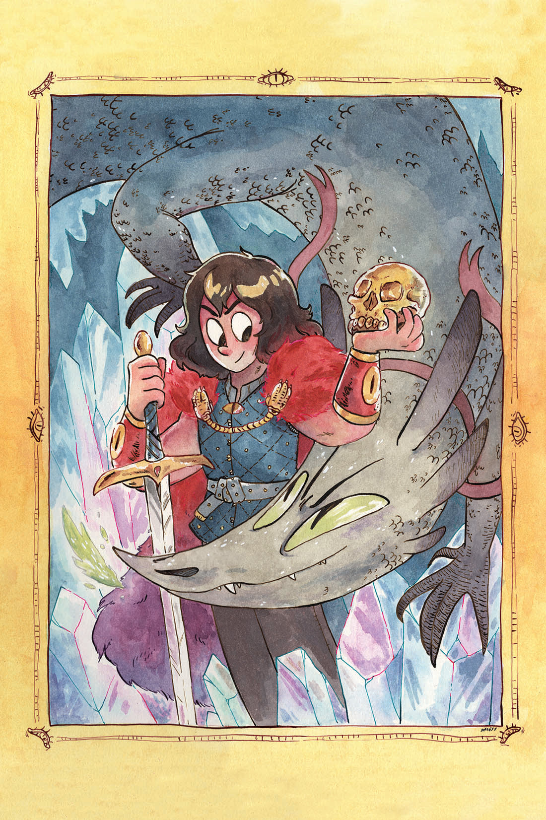 Snarlbear Postcards and Stickers Set from Snarlbear - Webcomic Merchandise