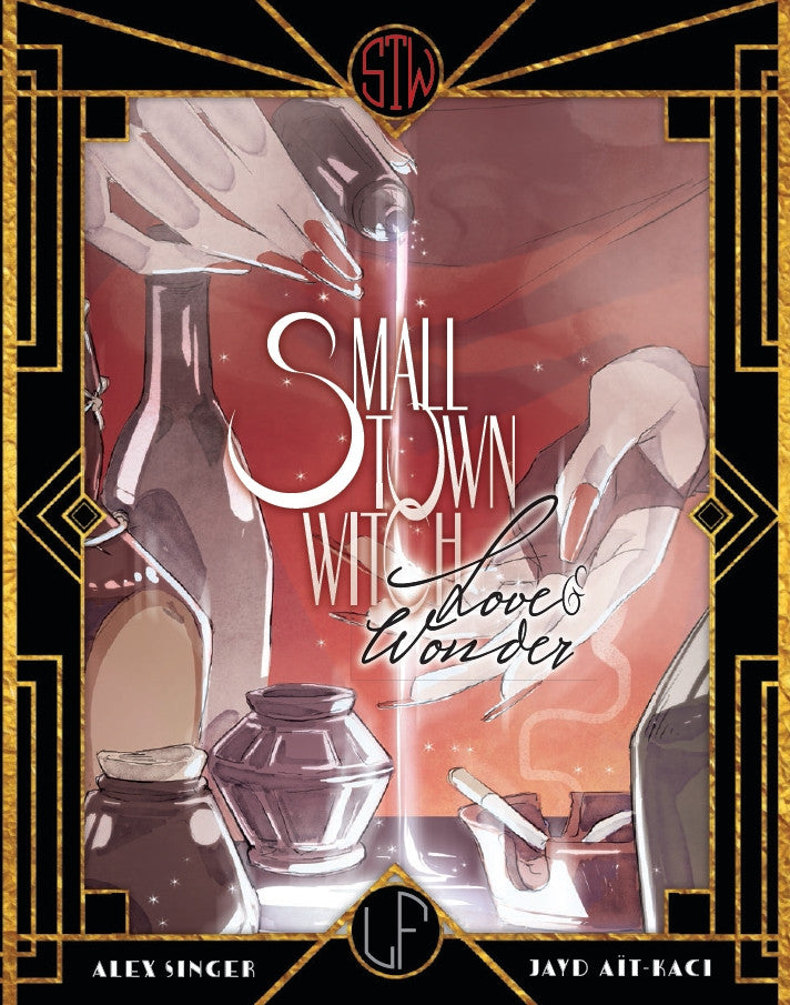 Small Town Witch Book 1 - Ebook and Hardcover from Small Town Witch - Webcomic Merchandise