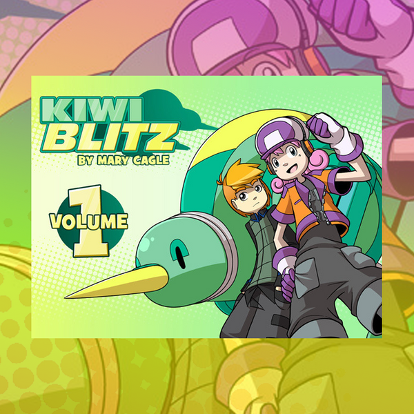 Kiwi Blitz - Volume 1 (Ebook) from Kiwi Blitz - Webcomic Merchandise